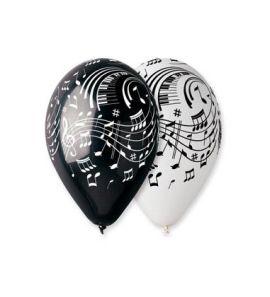 Балони с щампа – Ноти