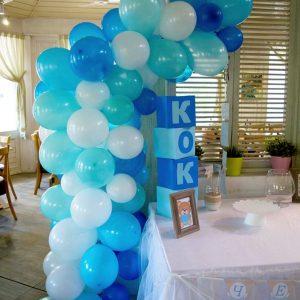 Полуарка от балони