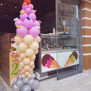 Сладолед от балони
