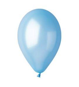 Металик балони – Светло синьо
