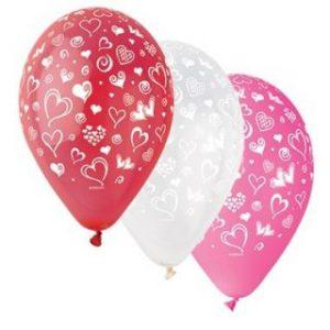 Балони с щампа – Сърчица