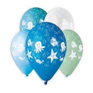 Балони с щампа – Морски