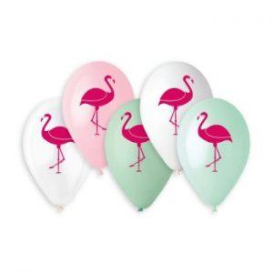 Балони с щампа – Фламинго