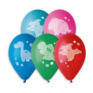 Балони с щампа – Динозавър
