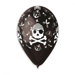 Балони с щампа – Пиратски череп