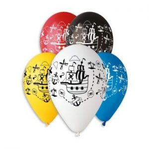 Балони с щампа – Пиратски кораб