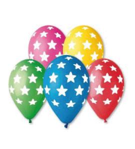 Балони с щампа – Звезди
