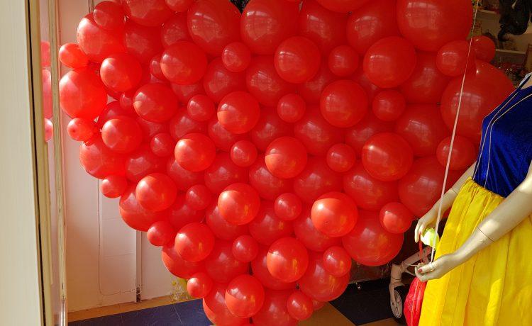 Балони и декорация за Свети Валентин !!!