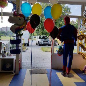Букет от балони с хелий – 5 броя