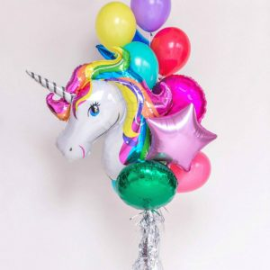 Балони с  хелий – Еднорог