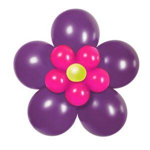 Цвете от балони – 3D