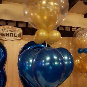 Композиция от балони с хелий