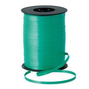 Панделка за балони зелена