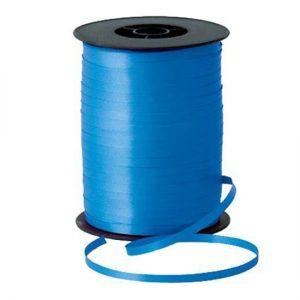 Панделка за балони синя