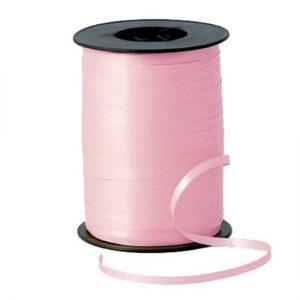 Панделка за балони розова