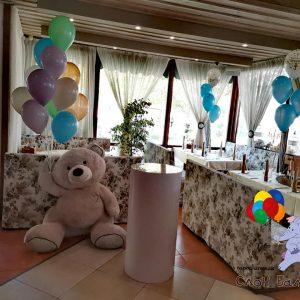 Декор – мече с балони