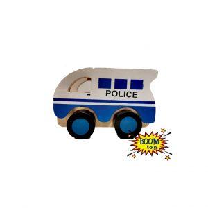 Дървена полицейска кола