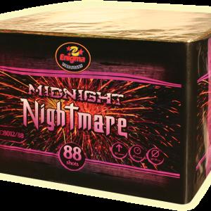 Пиробатерия,45sec,Ф20-30mm,88s, Midnight nightmare