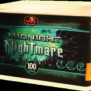Пиробатерия,66sec,Ф26mm,100s, Midnight nightmare,1/1