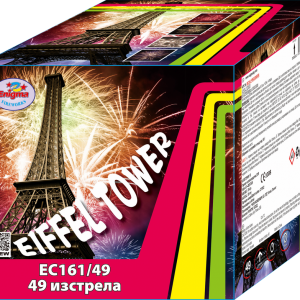 Пиробатерия,65sec,Ф30mm,49s, Eiffel Tower