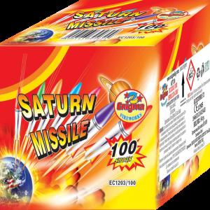 Пиробатерия,50sec,Ф8mm,100s, Saturn missile