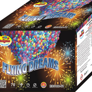Пиробатерия,59сек,Ф20mm,70s, Flying Dreams