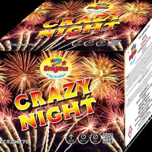Пиробатерия,54sec,Ф20-25mm,70s, Crazy night