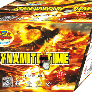 Пиробатерия,20sec,Ф25mm,49s, Dynamite time