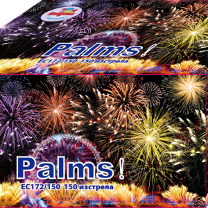 Пиробатерия,85sec,Ф20mm,150s, Palms
