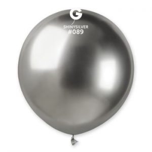 Балони Хром-големи Shiny Silver GB150 – 3 бр