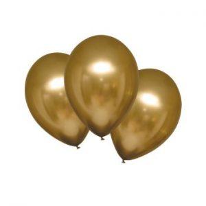 Балони Хром Gold Sateen