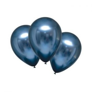 Балони хром Azure satin -5 бр