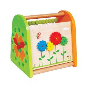 Дървена играчка за активна игра -Пролет