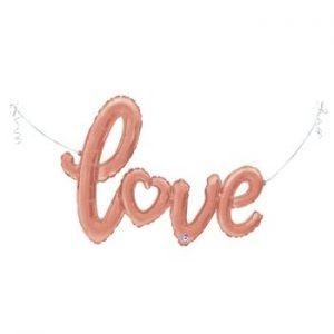 Фолиев надпис – LOVE