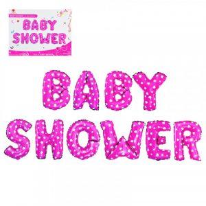 Балон BABY SHOWER -розов