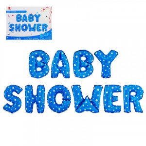 Балон BABY SHOWER – син