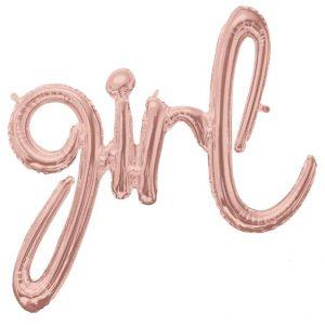 Фолиев балон -GIRL