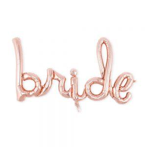 Фолиев надпис -BRIDE